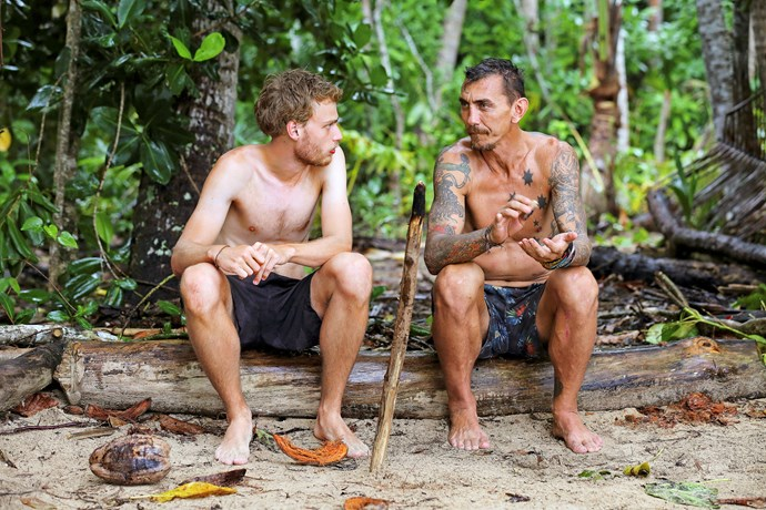 Mat (right) says he lost trust in Sam.