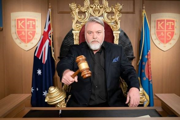 You may not agree with some of his view points, but shock jock Kyle Sandilands has quite the beard.