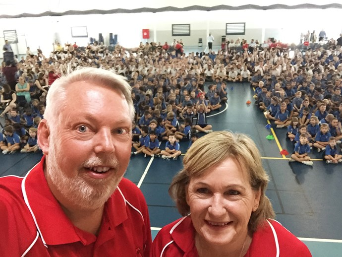 The Morcombes have visited thousands of schools and have been appointed Child Safety Ambassadors. *(Image: Instagram)*