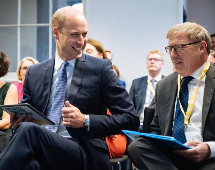 The Duke is launching a new campaign to improve mental health in the workplace.