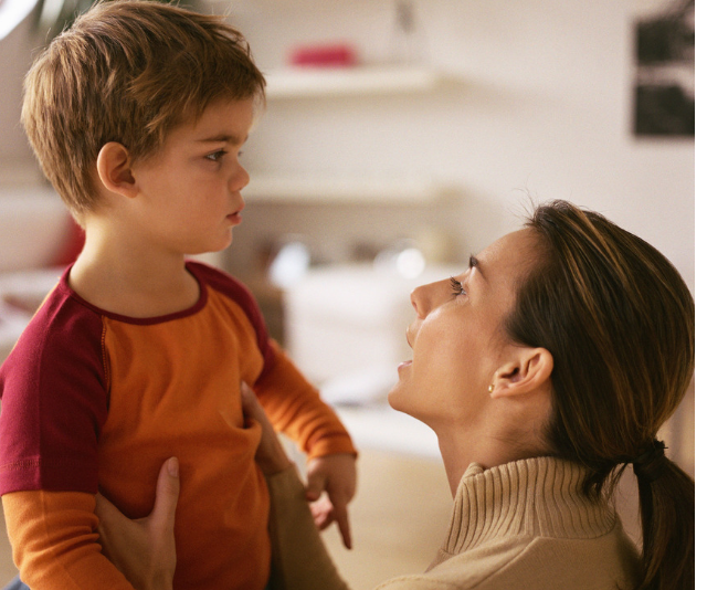 Parents need to give clear instructions, that have commitment and imply that action is required.