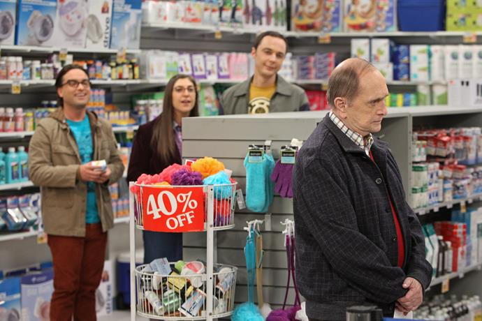 Bob Newhart appears in *The Big Bang Theory.*