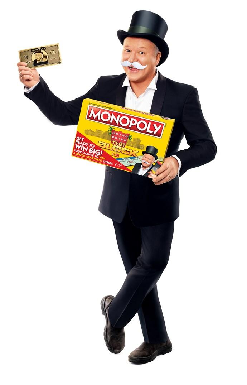 Scott Cam as Mr. Monopoly!
