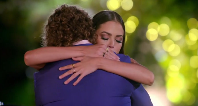 Tenille says goodbye to Nick.