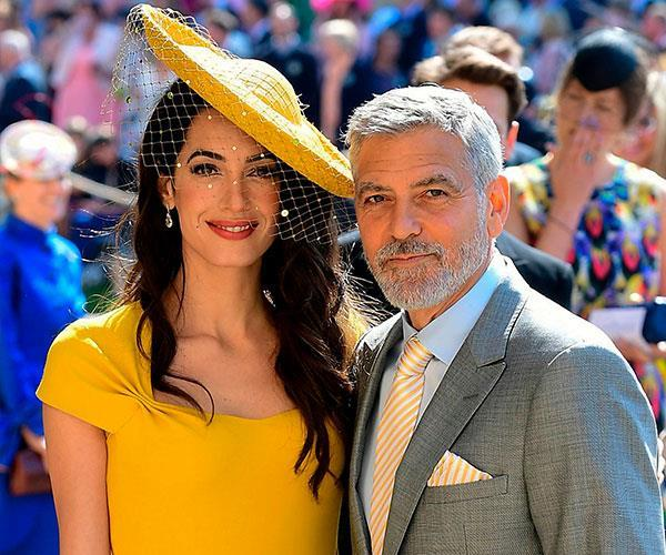 George and Amal Clooney are good friends with the royal couple, attending Meghan and Harry's wedding in May.