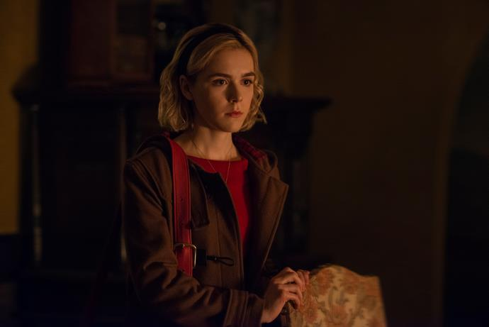 *Mad Men's* Kiernan Shipka stars as Sabrina.