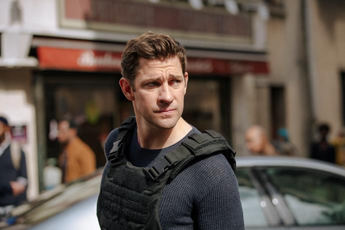 John as CIA analyst turned reluctant field agent *Jack Ryan*.