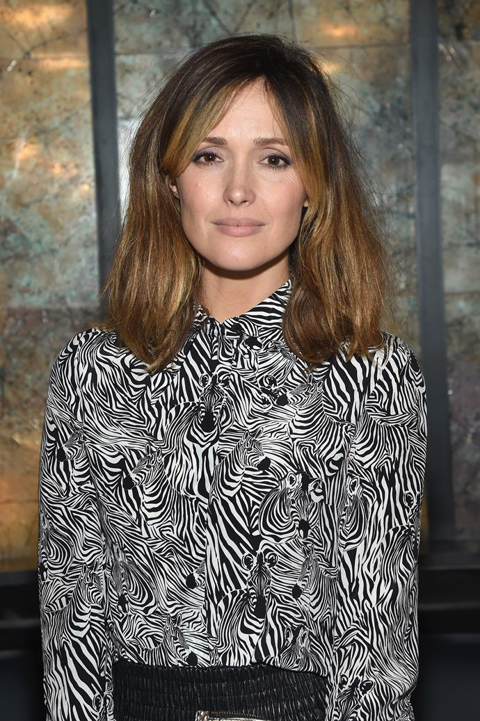Rose Byrne is a judge for the Heath Ledger Scholarship this year.