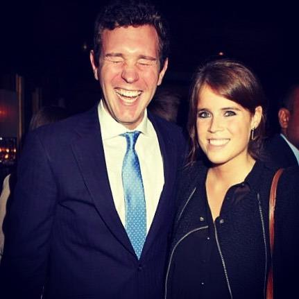 "It wouldn't be a bride-to-be's Instagram account without some cute PDA posts. Sharing this candid pic of herself and [fiancée Jack Brooksbank](https://www.nowtolove.com.au/royals/british-royal-family/princess-eugenie-jack-brooksbank-unseen-photos-50047|target=""_blank""), Eugenie wrote: ""Clearly I said something funny this time! Sums up Jack in a nutshell! Happy Birthday Jack."" Cute! *Image: Instagram/[@princesseugenie](https://www.instagram.com/princesseugenie/