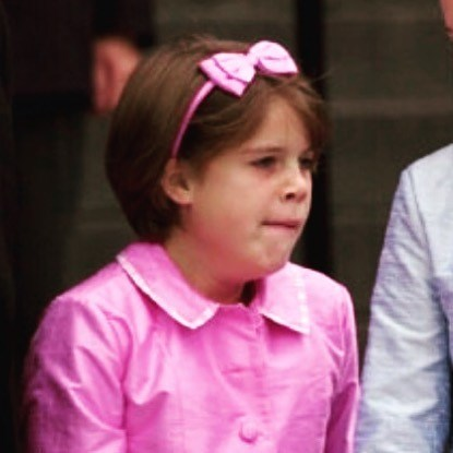 "She might have a Princess title, but Eugenie really is like the rest of us. Sharing this humorous throwback, she wrote: ""Monday mornings..always graceful stifling a yawn on the steps of St Paul's in a full pink suit!!!"" We feel you, girl! *Image: Instagram/[@princesseugenie](https://www.instagram.com/princesseugenie/