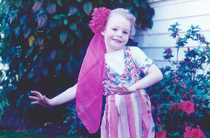 Emma was a dancer from an early age.