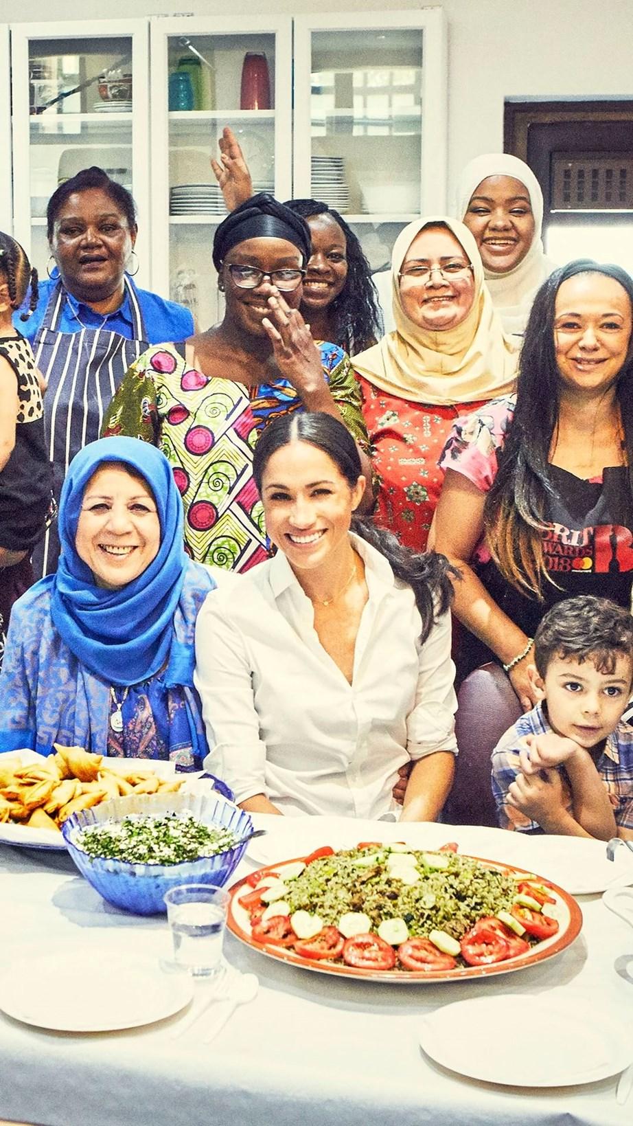 "Meghan, Duchess of Sussex, is supporting a community kitchen cookbook named Together. *Image: Twitter* / [*@KensingtonRoyal*](https://twitter.com/KensingtonRoyal/status/1041614862978297858/photo/1|target=""_blank""|rel=""nofollow"")"