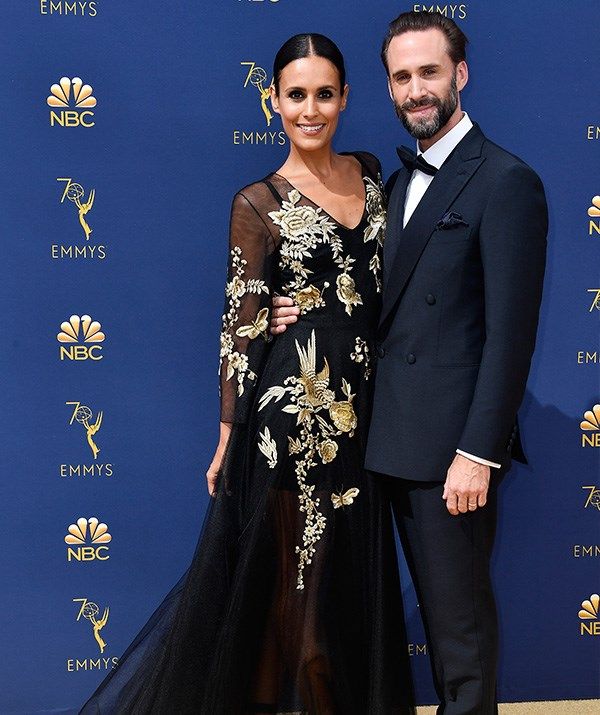 Joseph Fiennes and Maria Dolores Dieguez look classy as always.