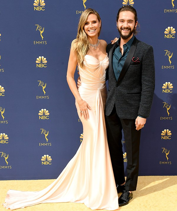 Heidi Klum and partner Tom Kaulitz only made their first public appearance as a couple in May. They look adorable together!