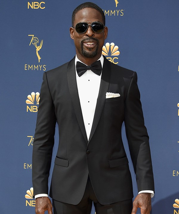 *This Is Us* star Sterling K Brown is looking dapper.