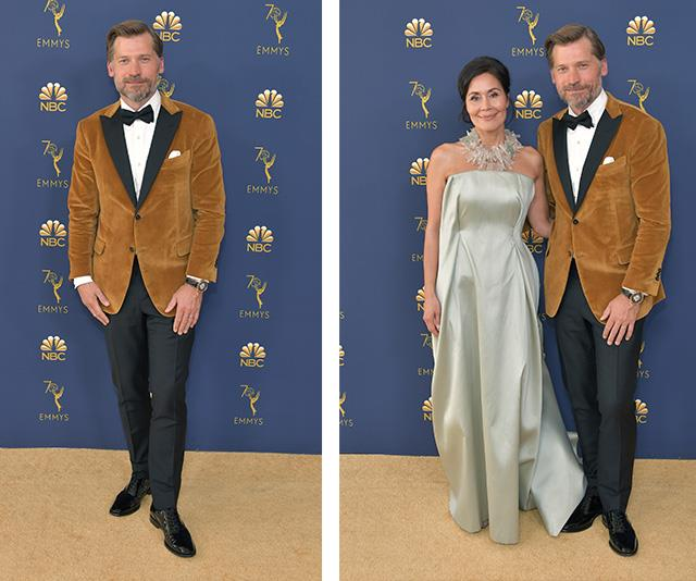 *Game of Thrones* star Nikolaj Coster-Waldau and wife Nukaaka Coster-Waldau are a picture perfect couple.