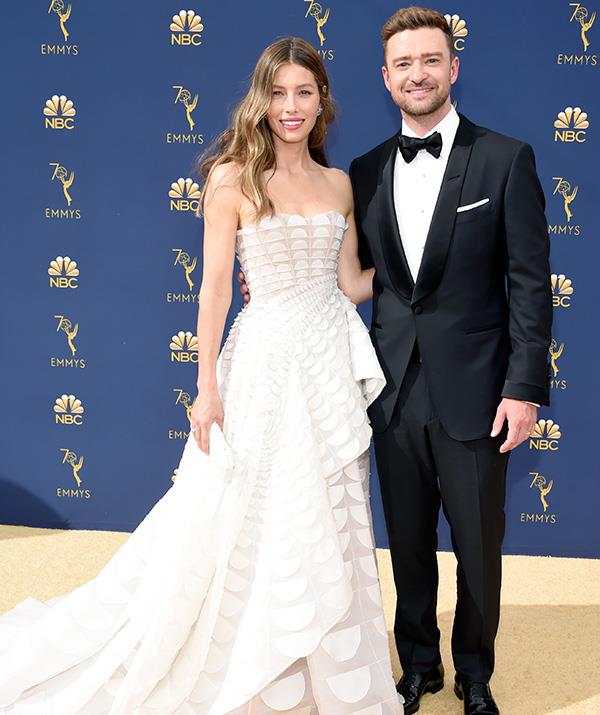 Another Hollywood power couple: Jessica Biel Justin Timberlake look divine.
