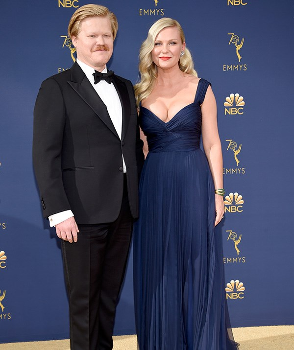 Kirsten Dunst and Jesse Plemons encapsulate old Hollywood glam.