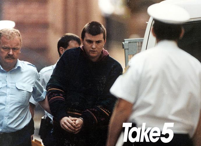Paul Denyer outside court.