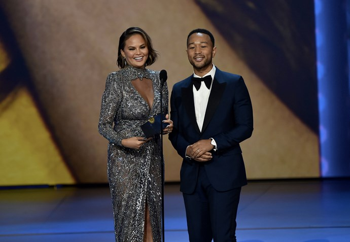 Chrissy Teigen and John Legend make the perfect presenting power-couple.