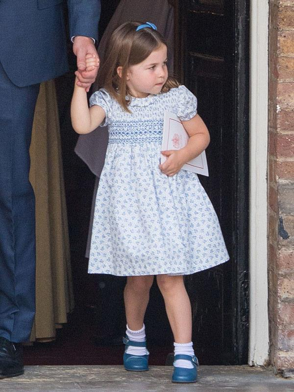 """Princess Charlotte is """"obsessed"""" with fashion!"""