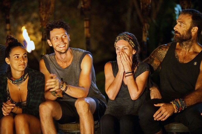 Benji sits at his final tribal council as a competitor.