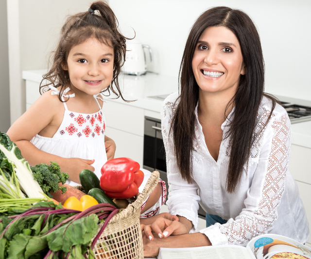 Mandy Sacher; Paediatric Nutritionist and author of *Wholesome Child* is passionate about a healthy balance for kids.
