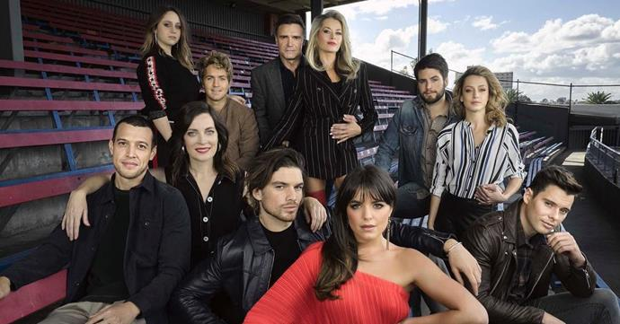 The cast of *Playing For Keeps*.