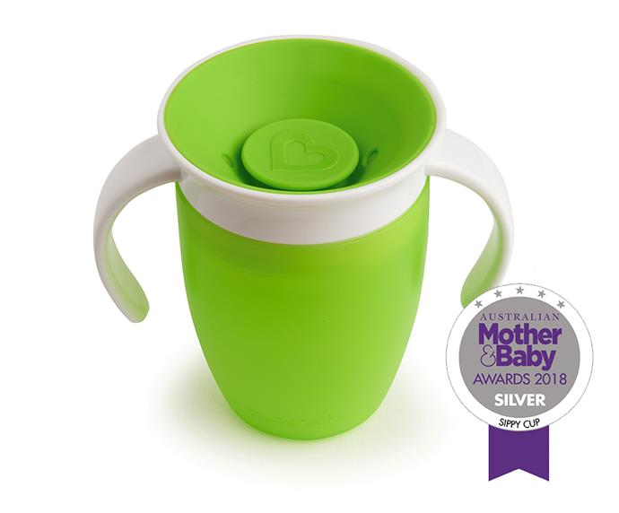 """[**Munchkin Miracle 360 Cup**,](https://au.munchkin.com/miracle-360-deg-10oz-cup.html