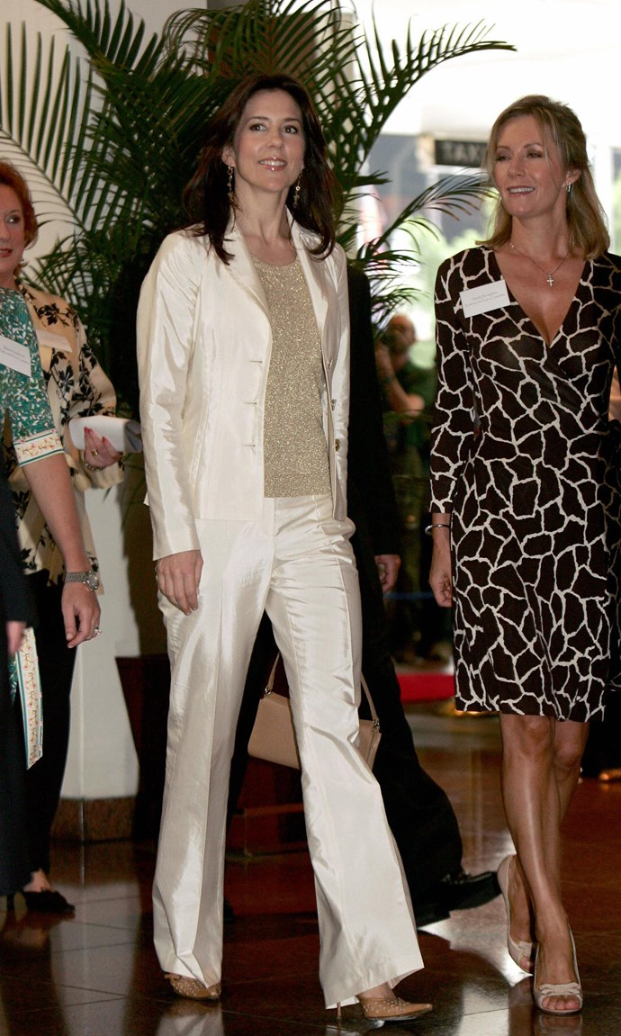 **March 2005, Sydney** <br><br> Again with the satin, we almost need some sunnies just to get through this gallery.