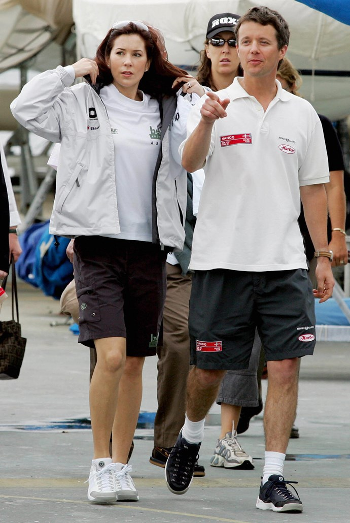 **February 2005, Sydney** <br><br> The boardies are back and we can't fault her for staying true to her origins.