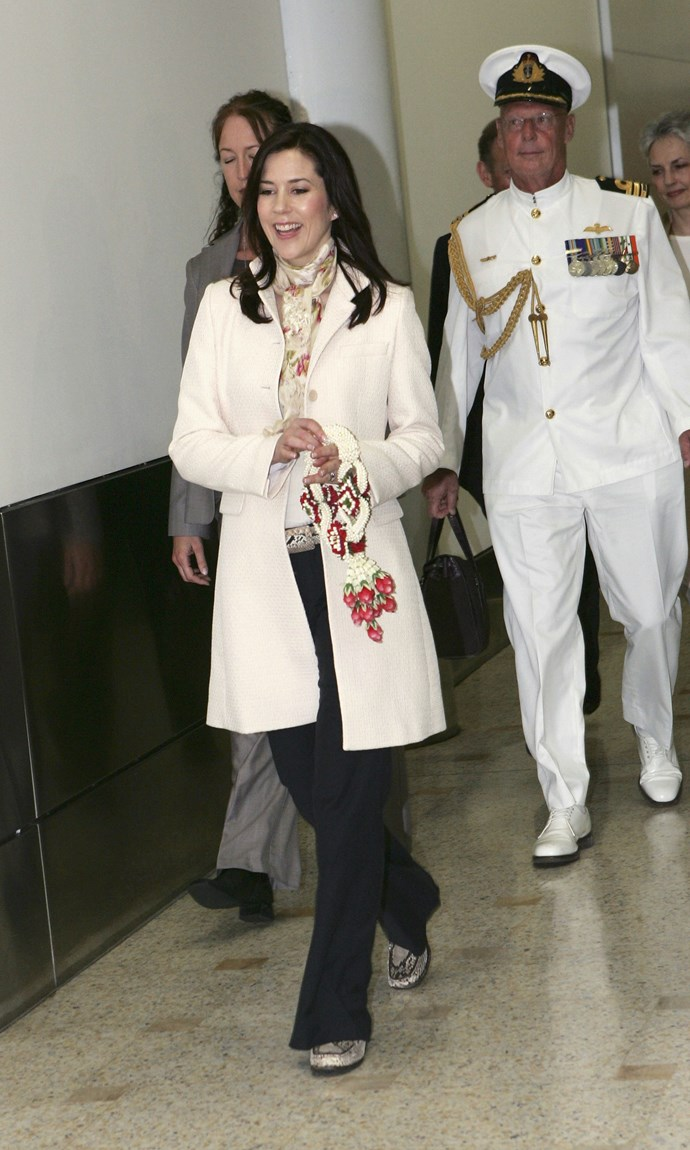**February 2005, Sydney** <br><br> Back on home soil, the Princess clearly felt comfortable to casual things up.