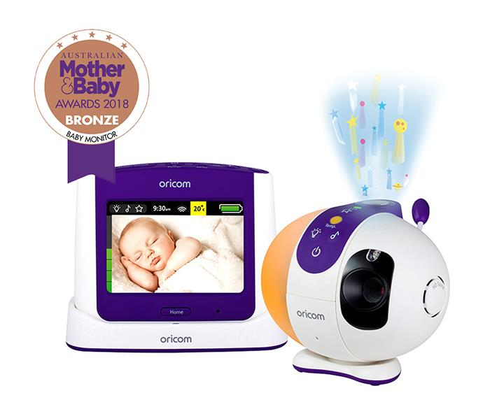 """[**Oricom Monitor Video Touchscreen SC870**,](https://www.babybunting.com.au/oricom-monitor-video-touchscreen-sc870.html