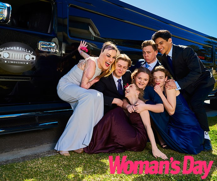 The owners of Hummerzillaz found Sophie's story so inspirational they gifted her and her friends a limo for their special night!