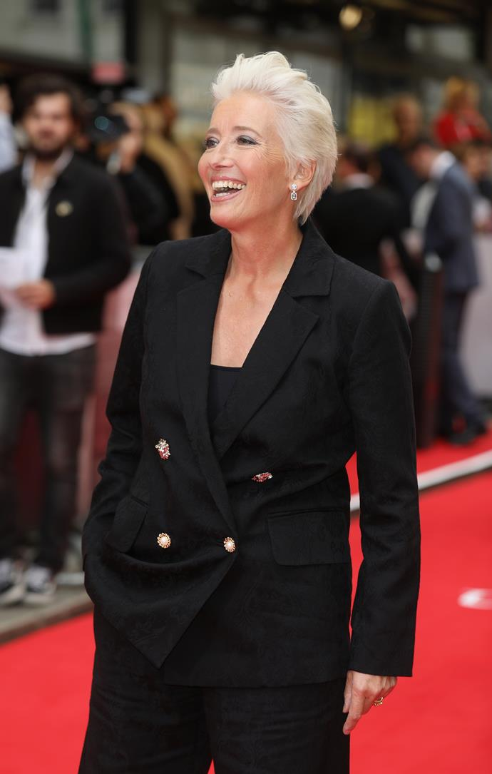 **Emma Thompson, 60** <br><br> We hope to see this incredibly talented actress grace our screens for many years to come!