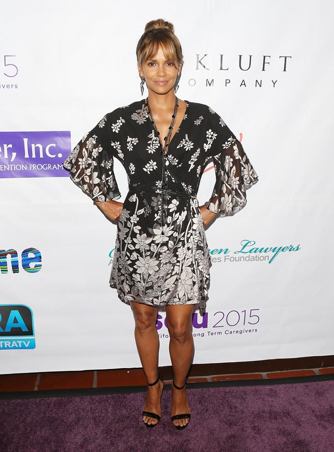 **Halle Berry, 53** <br><br> 'Fifty and fitty' sums up Halle. She's still an absolute goddess!
