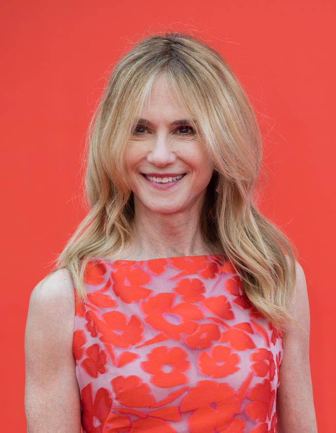**Holly Hunter, 61** <br><br> Holly's flawless style and luscious locks are timeless.