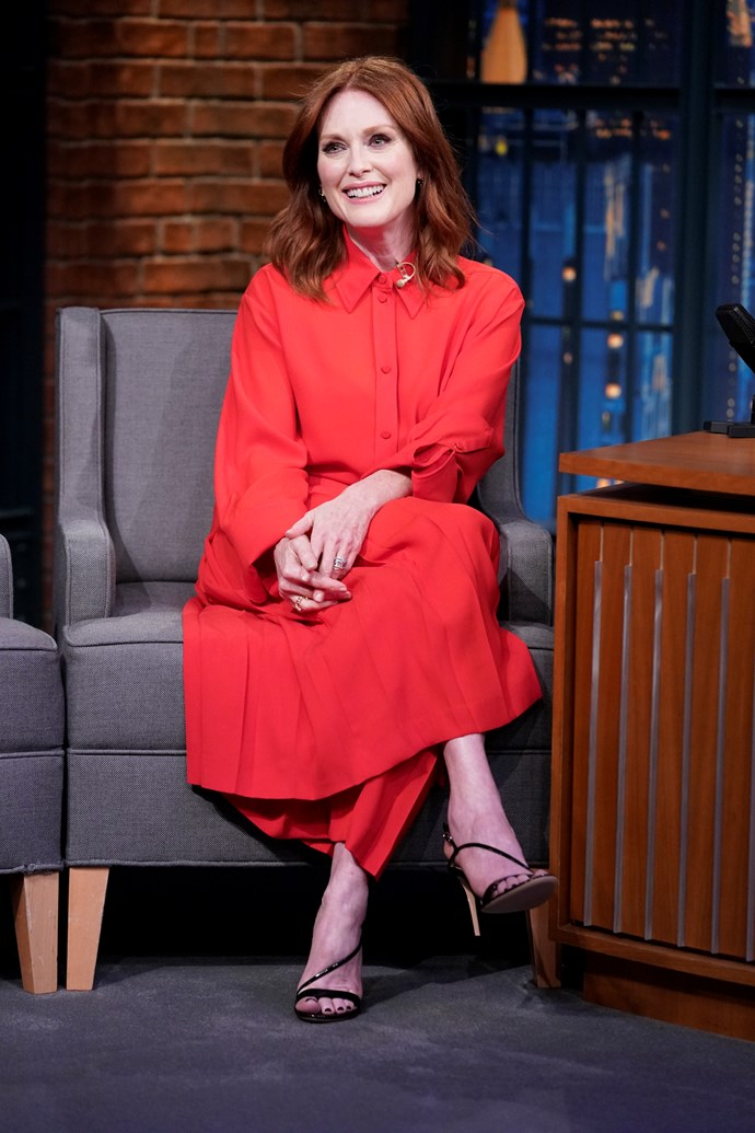 **Julianne Moore, 57** <br><br> Hollywood certainly isn't short of gorgeous redheads over the age of 50!