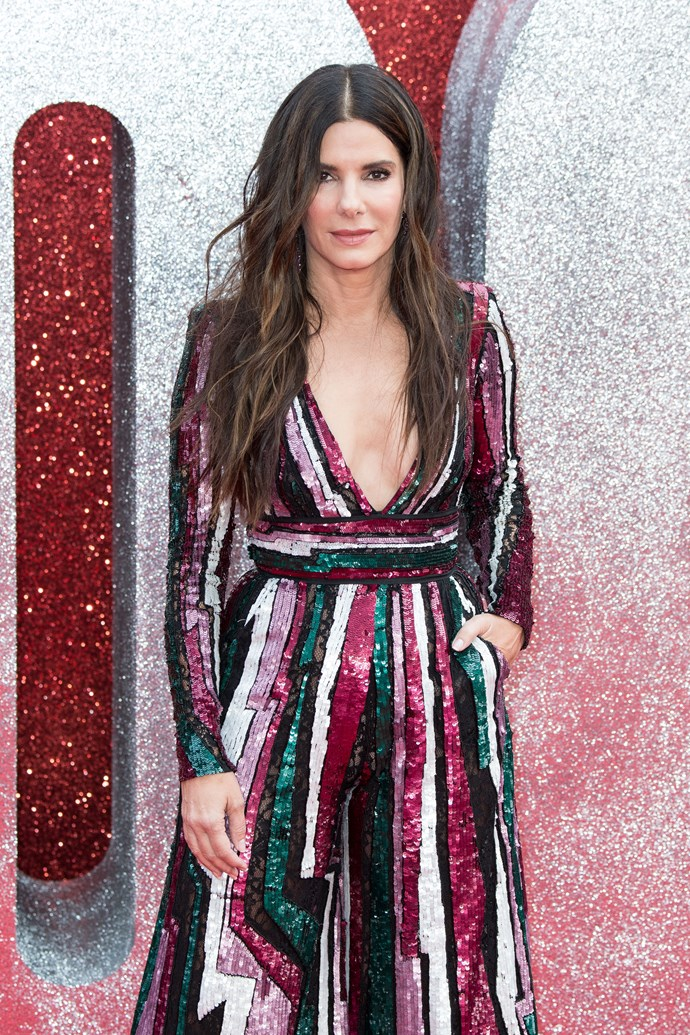 **Sandra Bullock, 54** <br><br> The Oscar winning actress and mum-of-two proves you can have a hugely successful career, raise a family and look amazing while doing it.