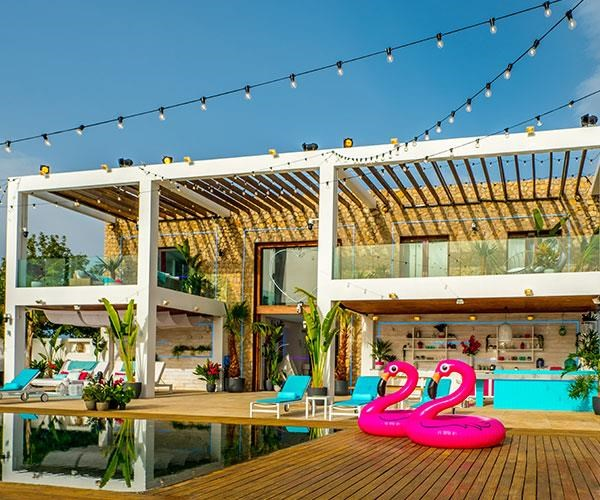 The real-life *Love Island* villa might not be open to the public but Airbnb has a huge range of villas that are just as luxurious.