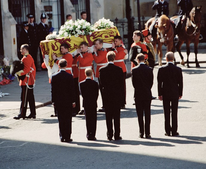Princess Diana's funeral was watched by billions across the globe.