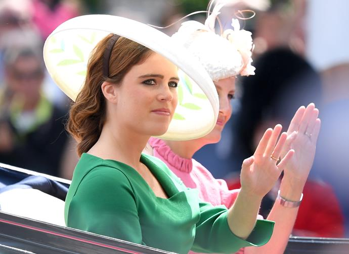 Princess Eugenie is a big fan of *The Crown.*