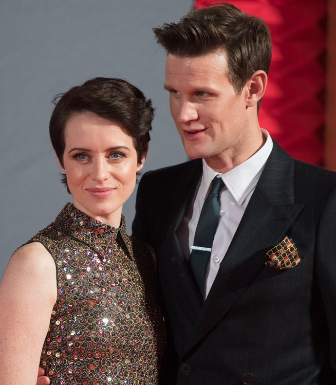 Claire Foy and Matt Smith portrayed Queen Elizabeth and Prince Philip in the first two seasons of *The Crown*