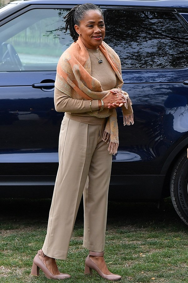 **She's got some serious style game**   This gallery alone should be enough to prove the Duchess of Sussex's mum is winning in the style stakes. From her soft green outfit at the royal wedding to this chic beige ensemble she wore to Meghan's charity cookbook launch at Kensington Palace. Safe to assume we'll be taking fashion cues from this muse for years to come!