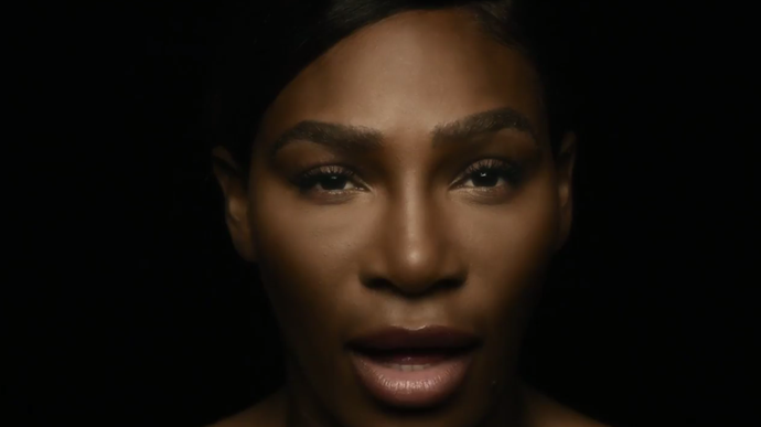 "The powerful preview clip features Serena singing the line: ""I love myself, I want you to love me""."
