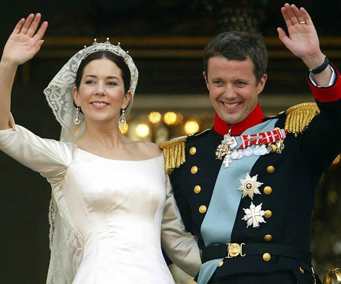 Mary and Frederik married in 2004.