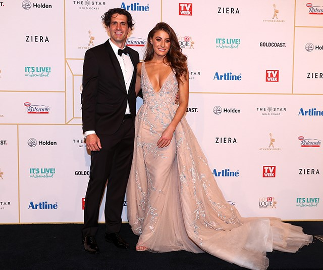 Talk about a genetically-blessed couple! The lovebirds worked the 2018 Logies red carpet.
