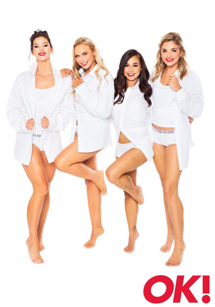 The Bachelor's Top 4: Brittany Hockley, Cass Wood, Brooke Blurton and Sophie Tieman.