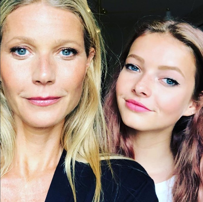 It's like seeing double! **Gwyneth Paltrow** and her daughter Apple are the [ultimate doppelgangers.](http://www.nowtolove.com.au/celebrity/hollywood-stars/moses-martin-looks-just-like-apple-martin-14548) The mum uploaded this new pic to Instagram for the USA National Daughter Day. Apple seems to have inherited her parents' musical talent too. Check her out in the video below.