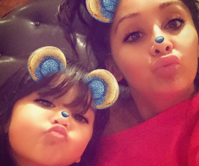 "J Woww's Jersey Shore pal, [Snooki](https://www.nowtolove.com.au/health/fitness/25-amazing-weight-loss-tips-from-the-stars-43880|target=""_blank"") also celebrated the day with her daughter, four-year-old, Giovanna Marie. The reality star wrote, ""Happy Daughters Day to my babygirl/mini me/partner in crime/best friend. You make me smile everyday baby! Keep being you!"""